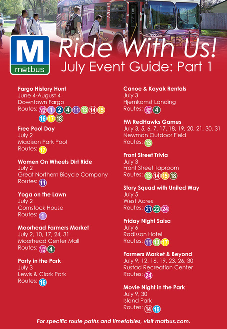 July 2018 Event Guide- 1